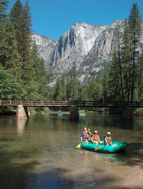 CA 1 Yosemite National Park, river trip