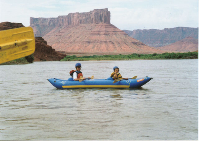 UT 48 Route 128 Colorado River trip, Moab